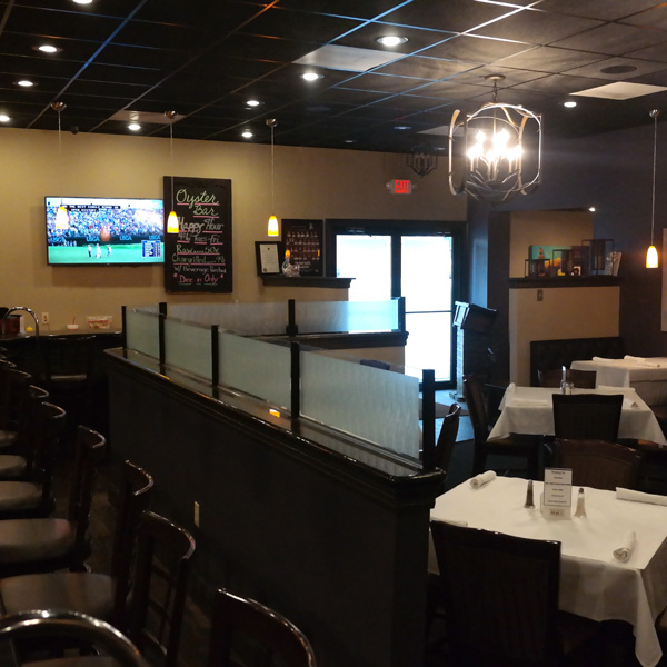 Interior of MeMe's Bar and Grille